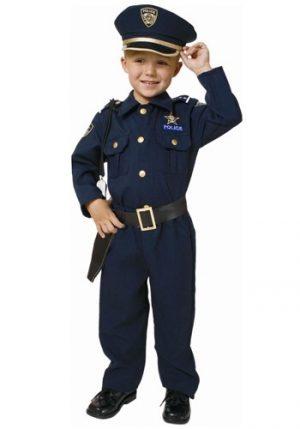 Fantasia de policial infantil deluxe- Child Deluxe Police Officer Costume