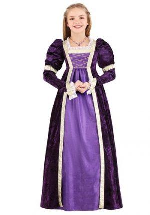 Fantasia de princesa ametista para crianças – Amethyst Princess Costume for Kids