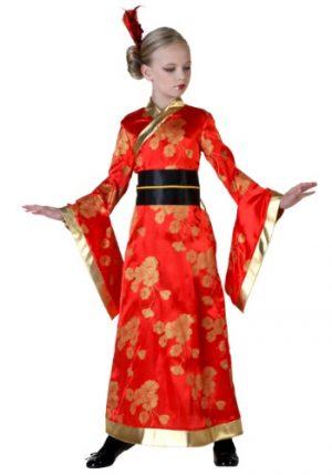 Fantasia de quimono infantil – Child Kimono Costume