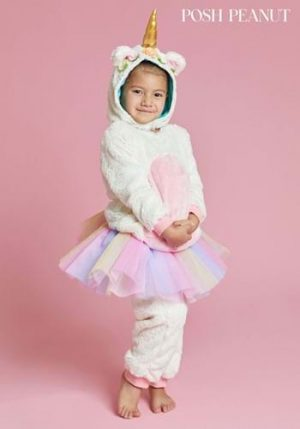 Fantasia de unicórnio de Eleanor de amendoim – Posh Peanut Eleanor Unicorn Costume for Toddlers