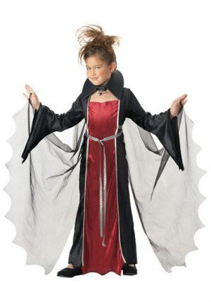Fantasia de vampira para meninas- Elegant Girls Vampire Costume