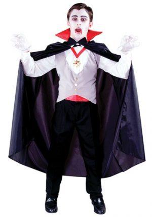 Fantasia de vampiro clássico para meninos – Boys Classic Vampire Costume