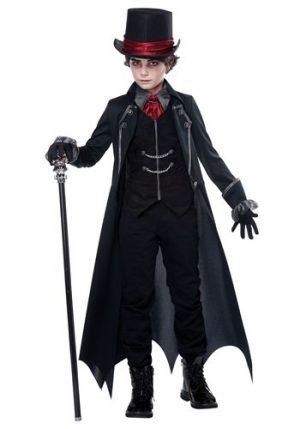 Fantasia de vampiro gótico para meninos- Gothic Vampire Costume for Boys