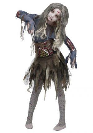 Fantasia de zumbi para meninas – Girls Zombie Costume